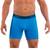 Mens Underwear - Front view of Undertech Sports Mesh Boxer Briefs 2 Pack - Blue / Navy