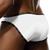Mens Underwear - Front view of Doreanse Underwear Naked Bikini in White - Mens Briefs