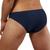 Mens Underwear - Front view of Doreanse Underwear Hang-loose Bikini Brief in Navy - Mens Underwear