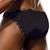 Mens Underwear - Front view of Doreanse Underwear Naked Bikini in Black - Mens Briefs