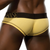 Mens Underwear - Front view of Doreanse Dore Brief in Yellow - Skimpy Mens Brief Underwear