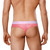 Male Thongs - Doreanse Underwear Window Thong in Pink - Male Thong With Sexy Cut Out Section & Mesh Panels