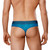 Male Thongs - Doreanse Underwear Window Thong in Blue - Male Thong With Sexy Cut Out & Mesh Panels