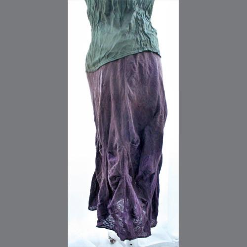 French Skirt Deep Purple