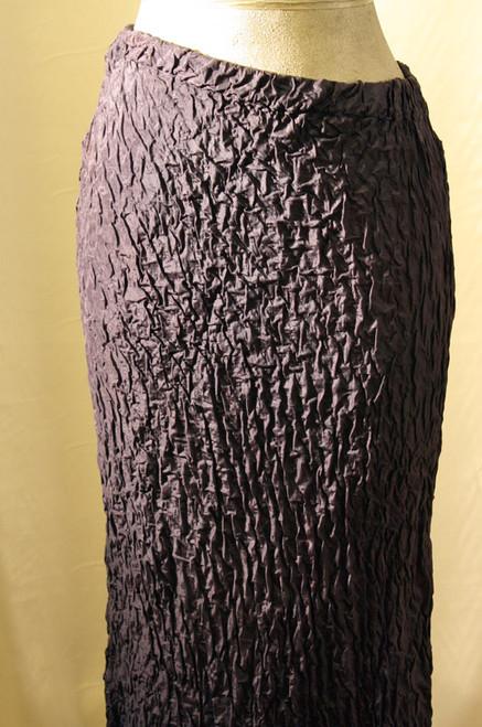 French blue bias Silk habitai skirt.