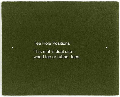 5 Star Gorilla Perfect Reaction Wood Tee Golf Mats 4 X 5