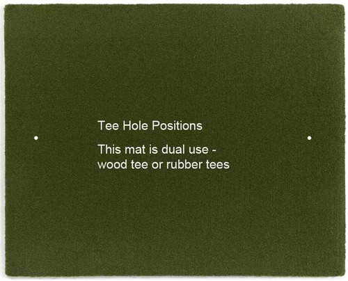 Martin Hall's 5 Star Perfect ReACTION Golf Mats - Hit Down and Through