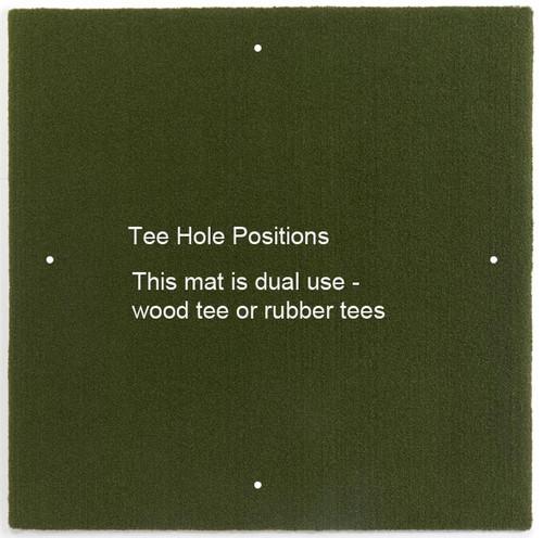 5 STAR GORILLA Perfect ReACTION Golf Mats - 5' x 5'