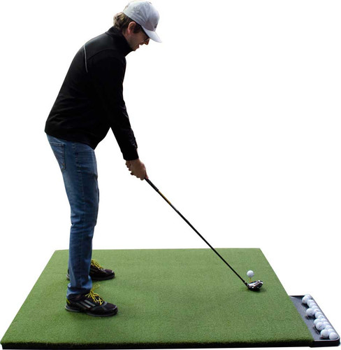 5 STAR Urethane Backed Perfect ReACTION Golf Mats - 4' x 5'