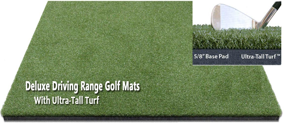 Zoysia Fairway Deluxe Driving Range Golf Mats