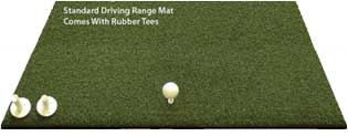 5 Star Commercial Driving Range Golf Mats