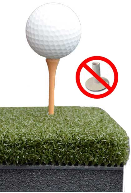 Perfect ReACTION Golf Mats Take A Real Wood Tee!