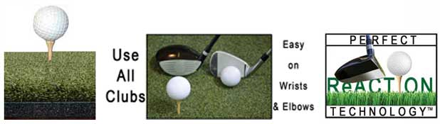 Perfect ReACTION Golf Mat Insert