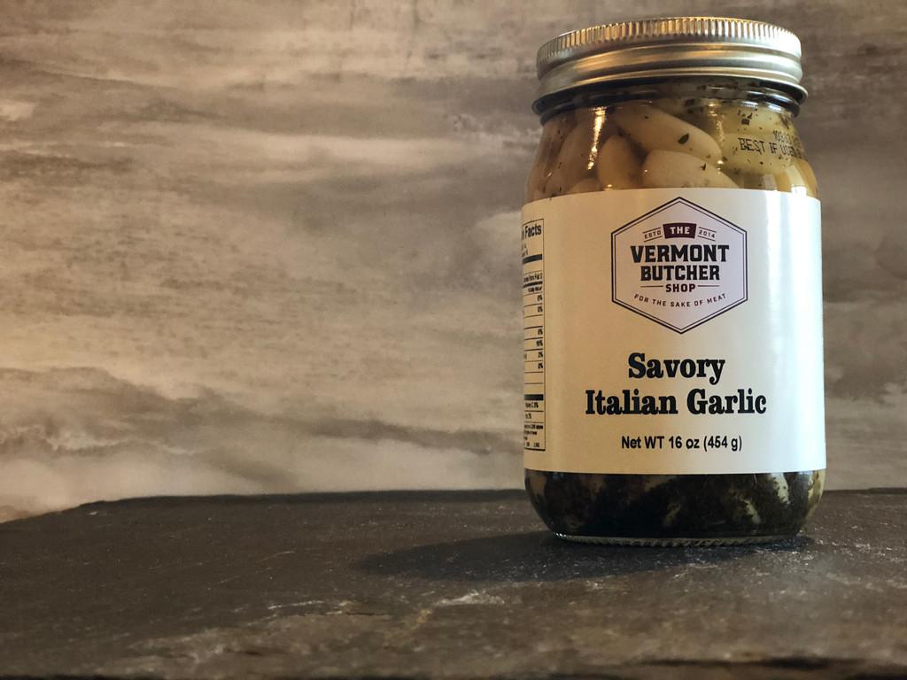 Italian Style Pickled Garlic