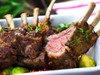 Butcher's Cut Cap-On Rack of Lamb (Frenched) (Kosher for Passover)