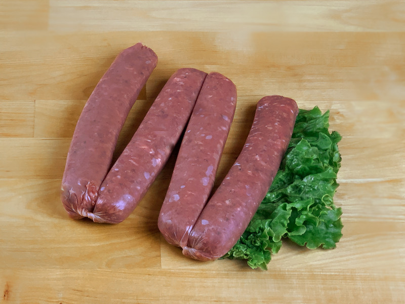Chile-Lime Beef Sausage (Raw)