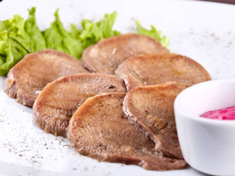 Veal Tongue (Kosher for Passover)