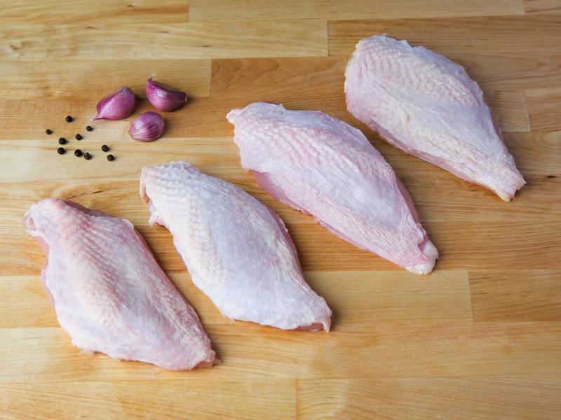 Skin-On Chicken Breast Filets (Kosher for Passover)