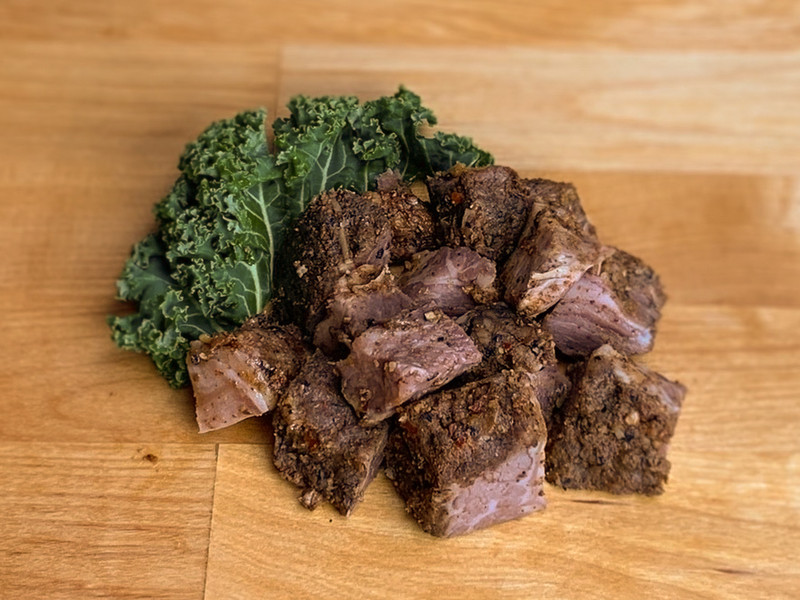 Beef Bacon Cubes (Kosher for Passover)