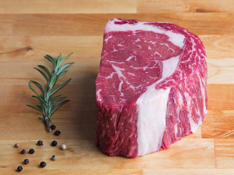 "Dry-Aged 2"" Rib-Eye Steak"