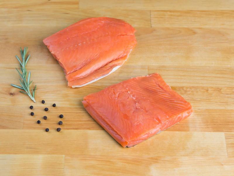 Wild Salmon Filets (Kosher for Passover)