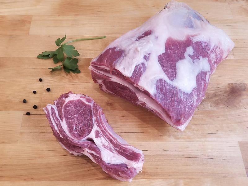Butcher's Cut Short-Cut Rack of Lamb