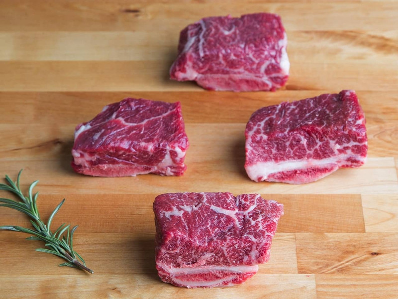 Veal English Short Ribs (Kosher for Passover)