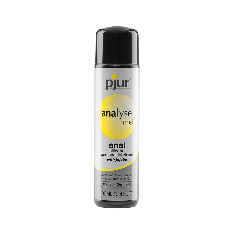 Pjur Analyse Me! Relaxing Anal Glide Silicone Personal Lubricant - 100 Ml Bottle