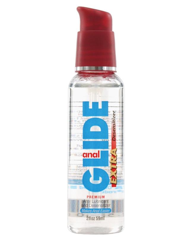 Body Action Anal Glide Extra Desensitizer - 2 Oz Pump Bottle