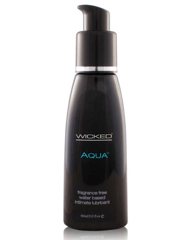 Wicked Sensual Care Collection Aqua Waterbased Personal Lubricant - 2 Oz Fragrance Free