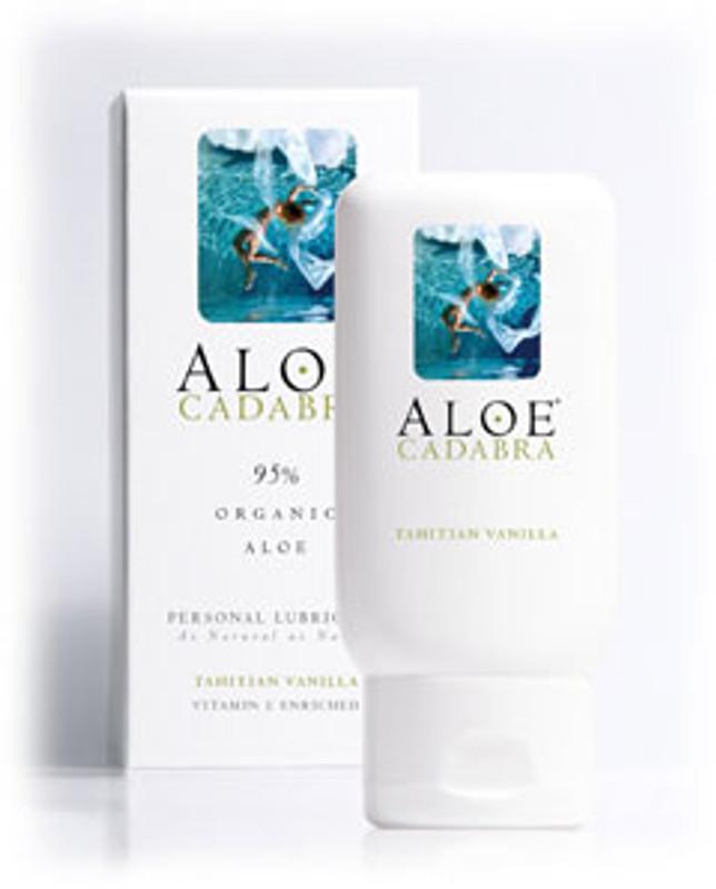 Aloe Cadabra Organic Personal Lubricant - Tahitian Vanilla 2.5 Oz Bottle