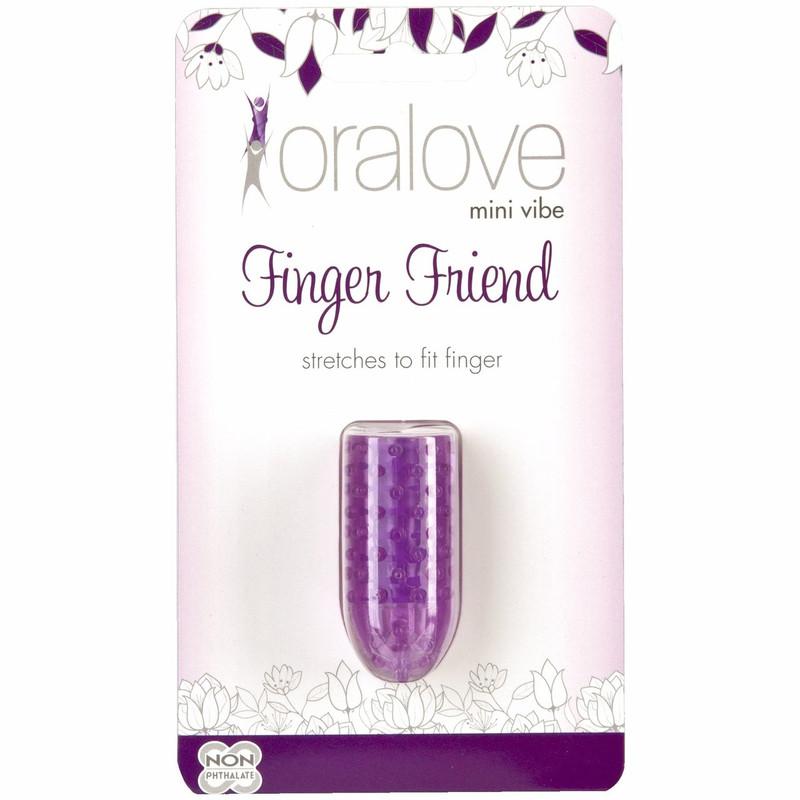 Doc Johnson Oralove Finger Friend Finger Vibrator