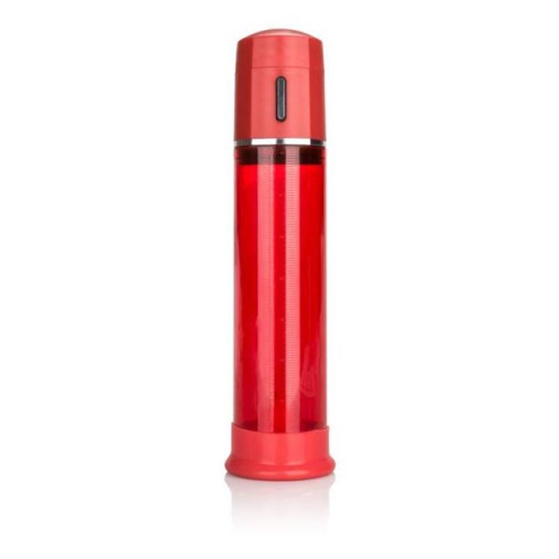 CalExotics Advanced Fireman's Red Penis Pump