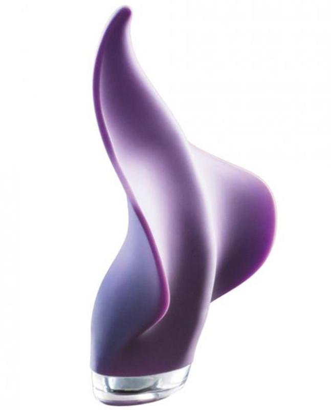 Clandestine Devices Mimic Manta Ray Handheld Massager Lilac Purple