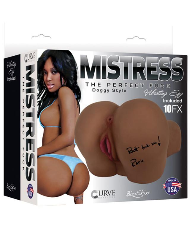 Curve Novelties Mistress Bioskin Paris Vibrating Masturbator Stroker Butt Doggie Style