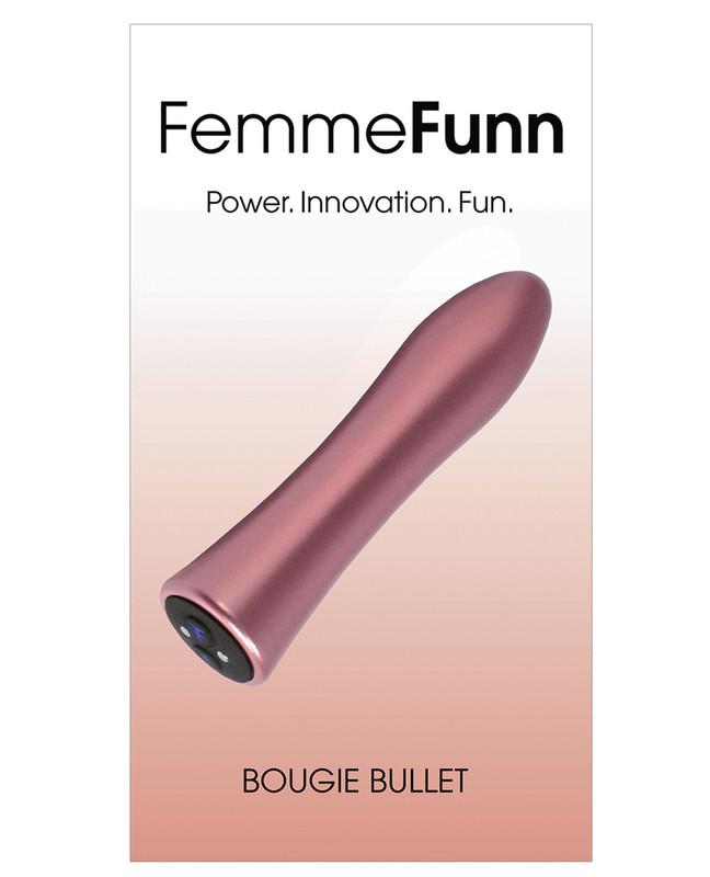 Femme Funn Bougie Bullet Vibrator - Rose Gold