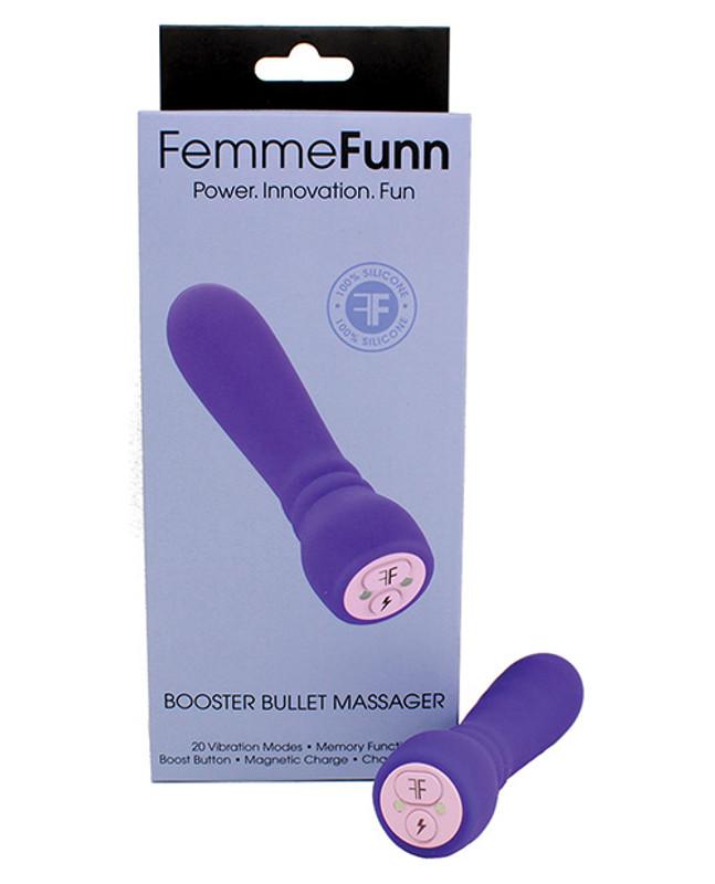 Femme Funn Booster Bullet Vibrator - Purple
