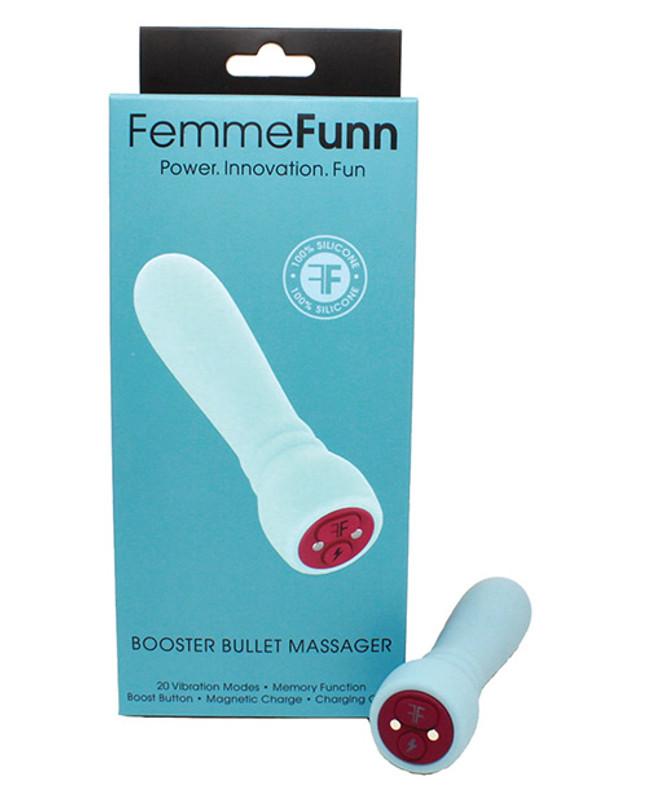 Femme Funn Booster Bullet Vibrator - Light Blue