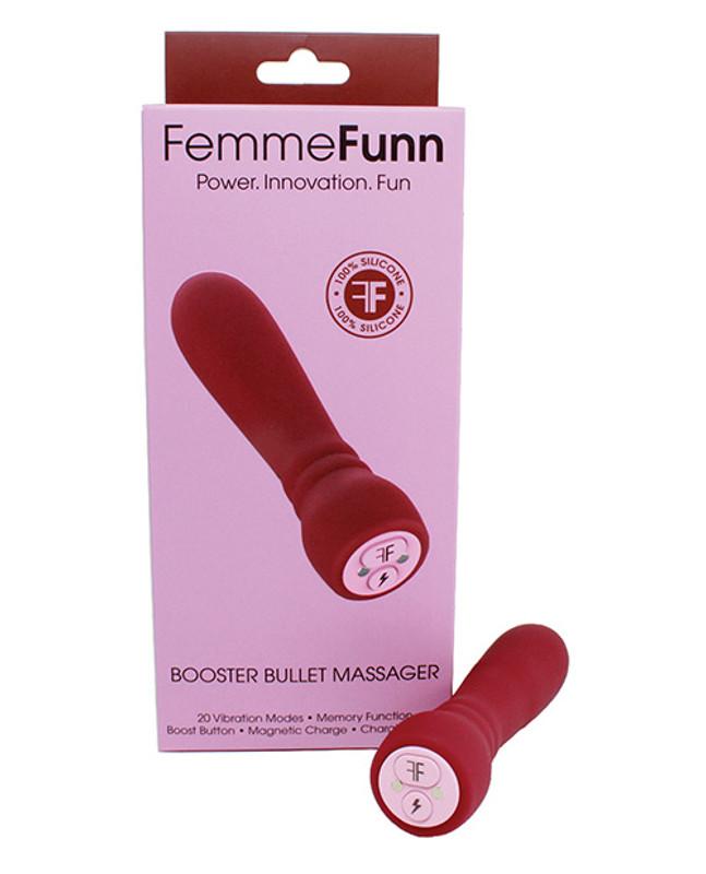 Femme Funn Booster Bullet Vibrator - Maroon