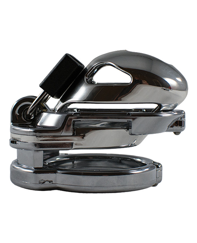 Locked In Lust The Vice Mini Cock Cage - Chrome