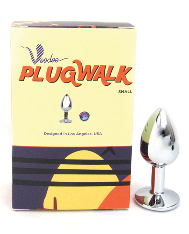 Voodoo Butt Plug Walk Small Stainless Steel - Silver