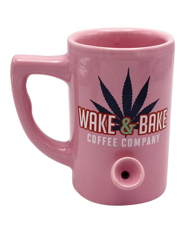 Wake & Bake Coffee Mug - 10 Oz Pink