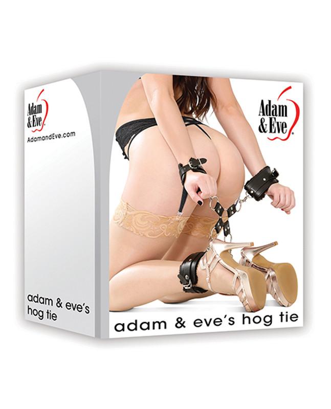 Adam & Eve Eve's Hog Tie - Black