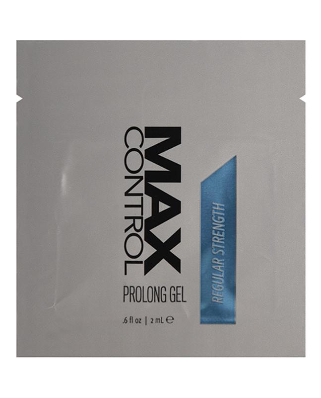 Max Control Prolong Gel Regular Strength Foil - 2 Ml