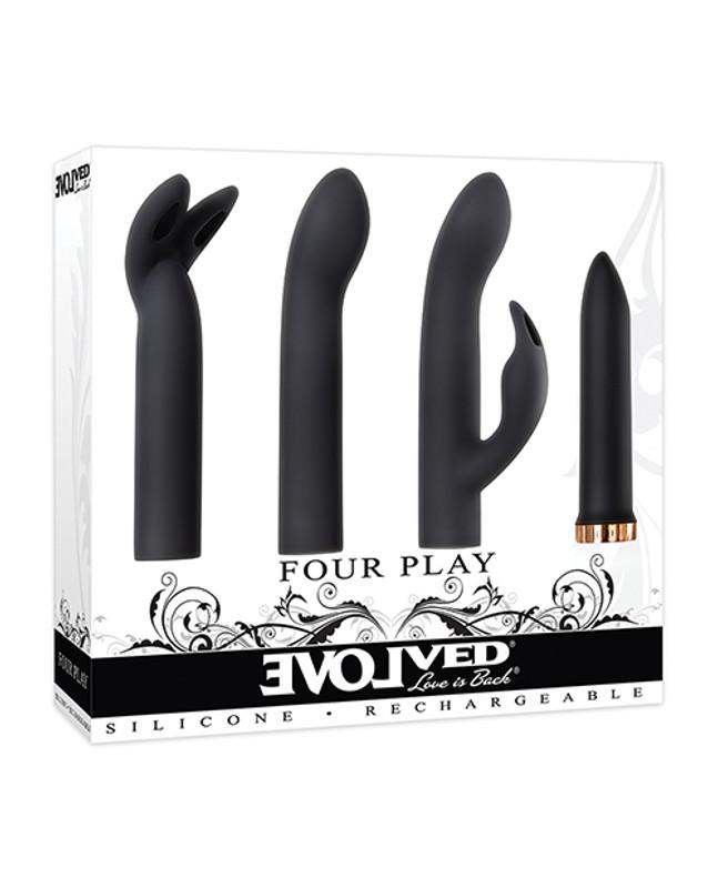 Evolved Four Play Kit - Black/Rose Gold