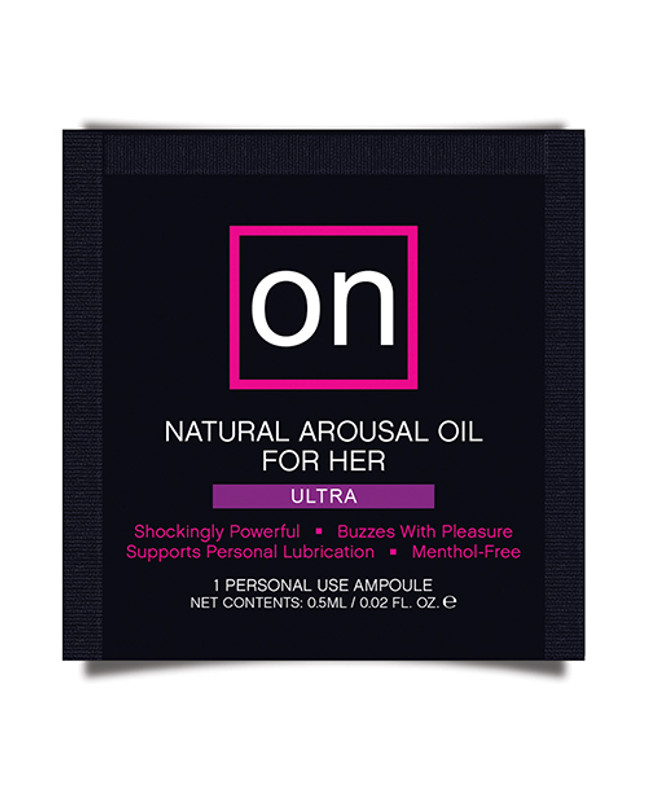 Sensuva On For Her Arousal Oil Ultra - Single Use Ampoule