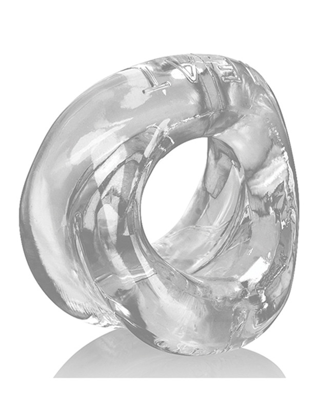 Oxballs Meat Padded Cock Ring - Clear