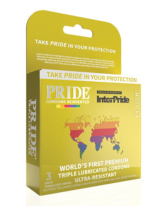 Pride Classic Condoms - Pack Of 3