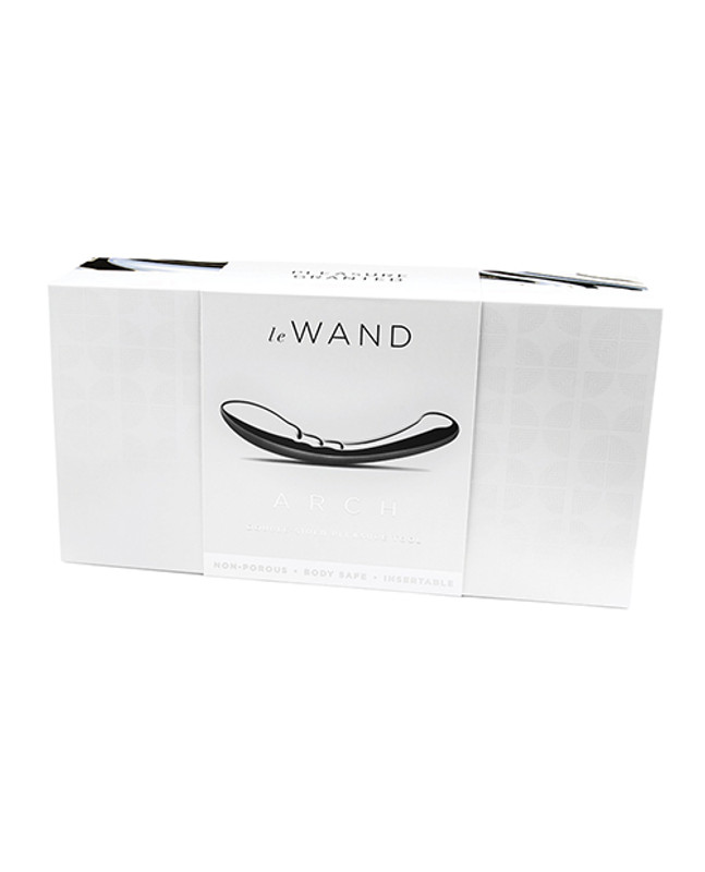 Le Wand Stainless Steel G-Spot Dildo Arch