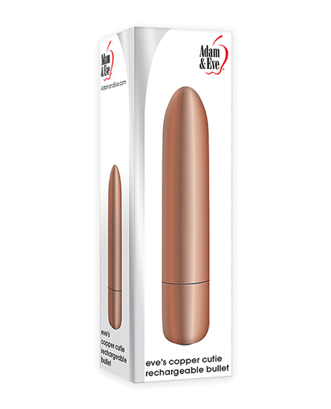 Adam & Eve's Eve's Copper Cutie Rechargeable Bullet Vibrator